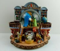 Beauty And The Beast Vintage Super Rare Snow Globe There's Something There Tune.
