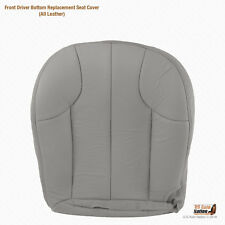 1999 2000 2001 Jeep Grand Cherokee Laredo -Driver Bottom GRAY Leather Seat Cover