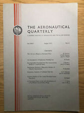 The Aeronautical Quarterly (Royal Aeronautical Society Journal) RARE Aug 1973