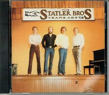 Rare Statler Brothers Years Ago CD OOP