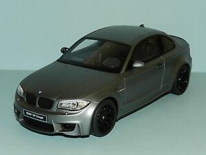 GT Spirit Models 1/18 BMW 1M Coupe Grey L/E MiB