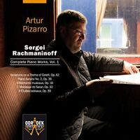Artur Pizarro - Sergei Rachmaninoff: Complete Piano Works Vol. 1 [CD]