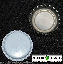 144 Pcs Unused WHITE OXYGEN ABSORBING BOTTLE CAPS Crowns Beer Soda Pop Homebrew