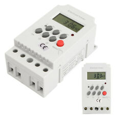 Kg316T-Ii Mini Din Rail Digital Programmable Electronic Timer Switch Ac 220V 25A