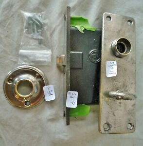 Mortise lock/latch Turn Knob COMPLETE SET PENN LOCK CO  Nickel