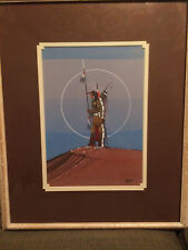 """Rance Hood Original Painting titled """"In The Center of the Earth"""""""