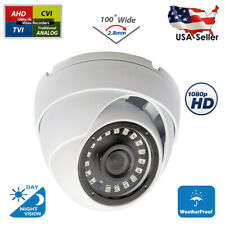 2,8mm Wide Angle Outdoor 1080p HD Day Night Vision CCTV Security Camera Dome