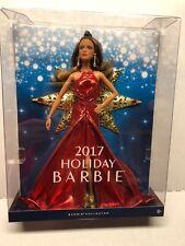 BRAND NEW IN BOX 2017 Holiday Barbie Teresa Doll Brunette