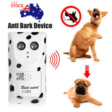 Anti Bark Device Ultrasonic Dog Barking Control Stop Repeller Dog Trainer AU