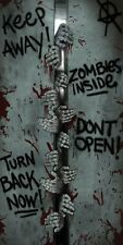 Halloween Zombie Inside Door Banner Cover Entrance Party Decoration