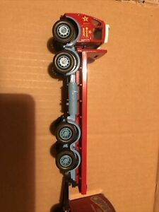 Corgi Code 3 Chipperfields Circus AEC 8wh FLATBED AND LONG TRAILER RED CAB