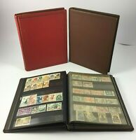 LOT 3 ALBUMS TIMBRES ANCIENS COLLECTIONS 1193 TIMBRES FRANCE MAROC REUNION H582