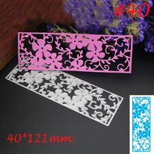 Hot Metal Cutting Dies Stencil Scrapbooking Paper Album Embossing Cards Craft