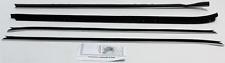 1979-80 CHEVY CAMARO Z28 & 1970-1981 TRANS AM WINDOW WEATHERSTRIP KIT (4 PIECES)