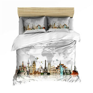 Statue Of Liberty Twin/Full/Queen/King Bed Duvet/Quilt Cover Set Duvet Cover Set