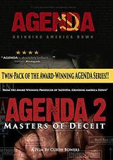 Agenda 1/Agenda 2 DVD Twin-pack of the Award Winning AGENDA Series Curtis Bowers