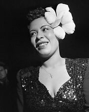 "Billie Holiday 10"" x 8"" Photograph no 12"