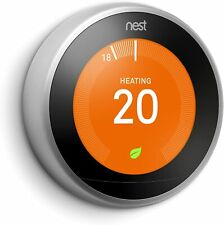 Nest Learning Thermostat (3rd Generation) - Stainless Steel