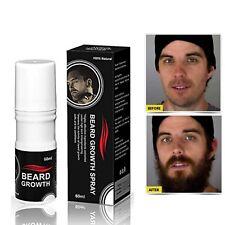Thick Full Beard Men Facial Hair Growth Oil  Growth Spray 60ml Beard Grow Simul