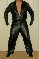 M Julian Relax Cut Leather Pants Size 38 - Comfortable Leather Pants!