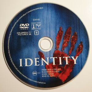 Identity   DVD   John Cusack, Amanda Peet   2003   Thriller   *Unoriginal Case*