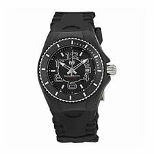 Technomarine 'Cruise Jellyfish' Black Silicone Swiss Quartz 34mm Watch TM-115126