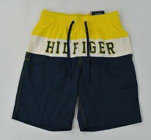 Tommy Hilfiger Traveler Swim Beach Bathing Suit Trunks Shorts Mesh Lined