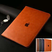 """Luxury Leather Case Smart Cover For iPad Air 10.5"""" 2019 9.7"""" 2018/Pro Mini 4 3 2"""