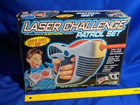 1996 Laser Challenge Patrol Set Box Toy VTG Tag Game ToyMax RARE Vest Gun