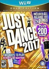 Just Dance 2017: Gold Edition (Nintendo Wii U, 2016)  *Factory Sealed*
