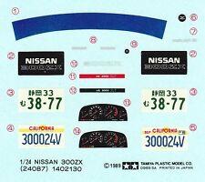 TAMIYA Decal 24087 1/24 Nissan 300ZX Turbo