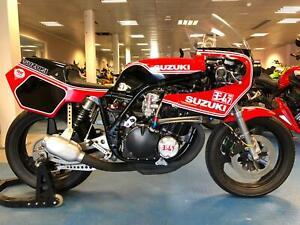2020 Built - Suzuki XR69 - GS1000 - Race Bike - Harris Graeme Crosby Replica