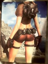 Tomb Raider Legend Poster Ad Print Lara Croft Playstation