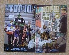 Comics/ Top 10/Números 4 y 5/ America´s Best Comics/World Comics/Alan Moore/2001