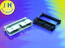 KIT IDC 26 (2 x13) polig/way Buchse-Stecker Verlängerung Flachbandkabel #A578