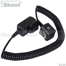 I-TTL Off-Camera Shoe Cord/Cable for Nikon SC-28/SC-29&Flash SB800/SB700/SB600