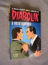DIABOLIK ORIGINALE ANNO XLIX n°  1 - 2010 - RARO - OTTIMO