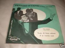 """PEPPINO DI CAPRI """" NOTTE DI LUNA CALANTE - I' TE VURRIA VASA' """" ITALY60"""
