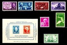 1947 Commemorative Year set w S/Sheet - MNH