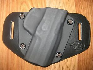OWB Kydex / Leather Hybrid Holster with adjustable retention