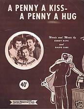 1950 - Andrews Sisters - A Penny a Kiss - A Penny a Hug