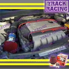 93-98 VOLKSWAGEN GOLF GTI CORRADO SLC JETTA PASSAT GLX AIR INTAKE+K&N Blue Red