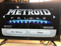 Metroid Prime 3: Corruption Game in Case! Nintendo Wii CIB Tested