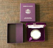 1986-S 1oz Proof Silver American Eagle  in Capsule, Box & Outer Box , No COA