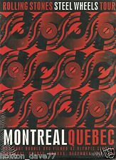 ROLLING STONES Montreal, Canada 1989 2x DVD Steel Wheels Tour GLAM Beat PSYCH