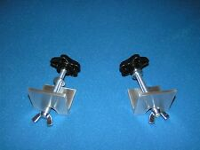 Clamps for Do It Yourseff Canoe Motor Mount, Stabilizer, Rod Holder Crossbar