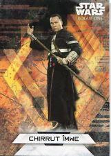 Star Wars Rogue One Series 2 Character Sticker Chase Card CS-14 Chirrut ×mwe