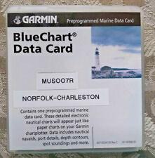 Garmin BlueChart Data Card MUS007R Norfolk - Charleston