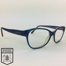VERSACE eyeglasses SPECKLED BLUE SQUARE glasses frame MOD: 3188 5090