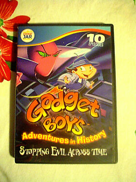Gadget Boys Adventures in History Stopping Evil Across Time DVD 2012